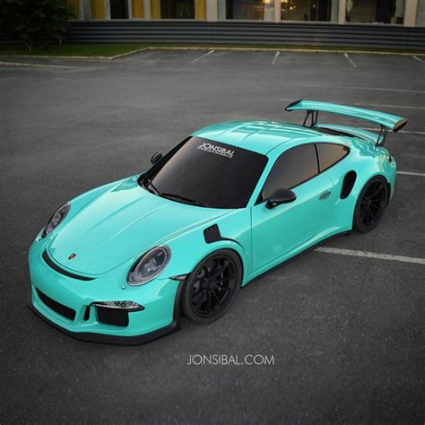porsche mint green 2016 porsche 911 gt3 rs looks tasty in mint green