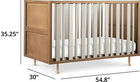 mini crib vs size crib mini crib vs standard crib size emerson mini crib