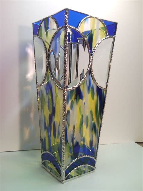 Stained Glass Vase stained glass chi vase by unikke glas amazing stained glass boxes