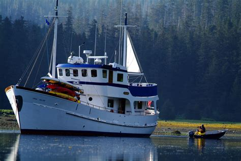 jacht ursa major mv ursa major alaska charter yacht