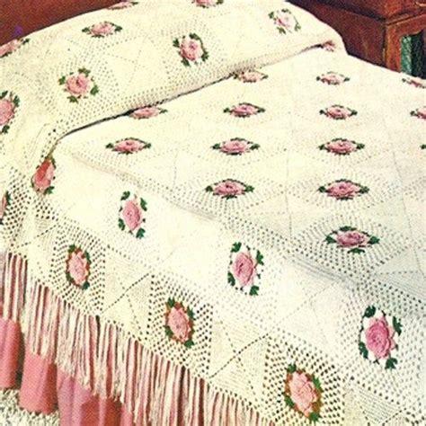 knitted bedspread patterns free vintage crochet bedspread patterns free crochet and knit