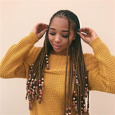 braids hairstyles that trend the braids and beads trend is taking over instagram