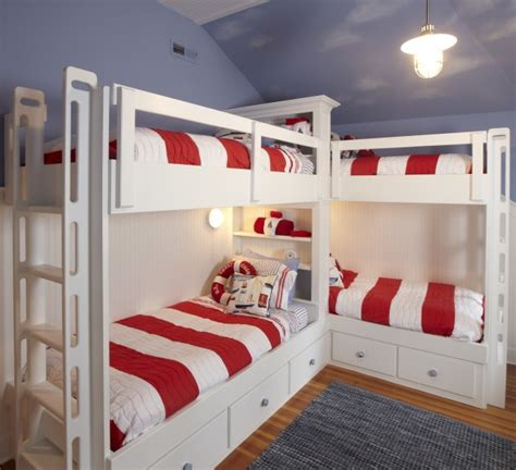 Four Bed Bunk Bed Bunk Bed Plans The Best Bedroom Inspiration