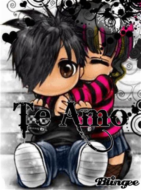 imagenes de anime emo girl anime emo love fotograf 237 a 127390441 blingee com