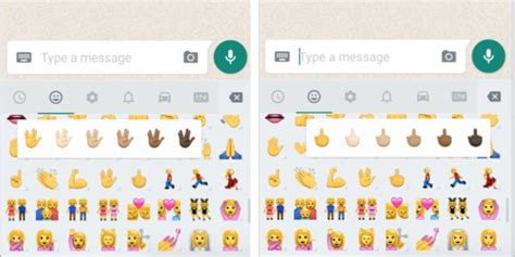 middle finger emoji android whatsapp unveils middle finger emoji and other changes for android huffpost uk
