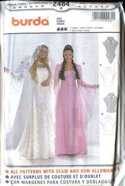 Burda Sewing Pattern   Fairystumes