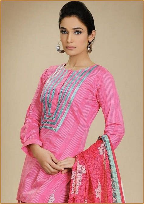kurta stitching pattern simple kurti neck designs a kurta idea s pinterest