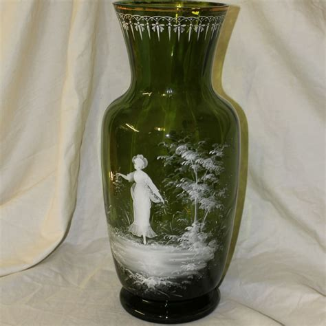 Large Green Floor Vase by Bargain S Antiques 187 Archive Large Green
