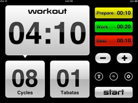 best tabata timer app no more excuses now work out with these 10 brilliant