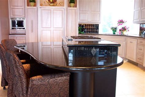 bi level kitchen designs bi level kitchen renovation black granite with copper