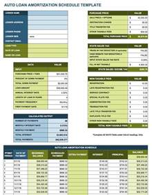 Amortization Calculator Excel Template by Free Excel Amortization Schedule Templates Smartsheet