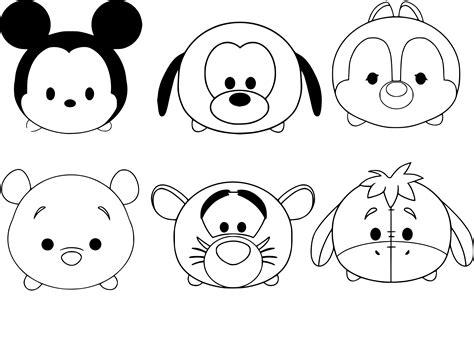 Coloriage Tsum Tsum Mickey 224 Imprimer Sur Coloriages Info