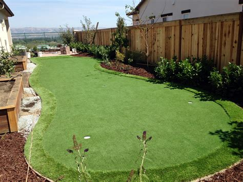 fake grass backyard fake grass fairfield texas outdoor putting green