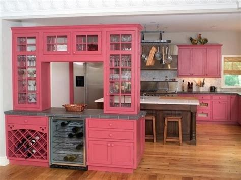 pink kitchen cabinets pink kitchen designs decorating ideas photos home