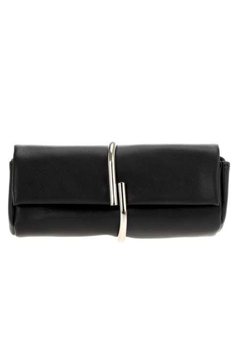 Metal Ring Clutch wrapped metal ring flap clutch with metal agp