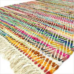 home inspired by india rug 3 x 5 ft colorful rag rug chindi floor mat carpet tapestry
