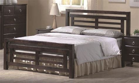 dark wood bed frame colorado dark wood bed frame 4ft6 double or 5ft kingsize ebay