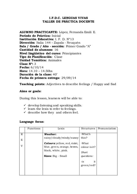 lesson plan 3 kindergarten level