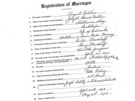 Milwaukee Marriage Records A Bit Of Pioneer History Right On Your Desktop Onmilwaukee