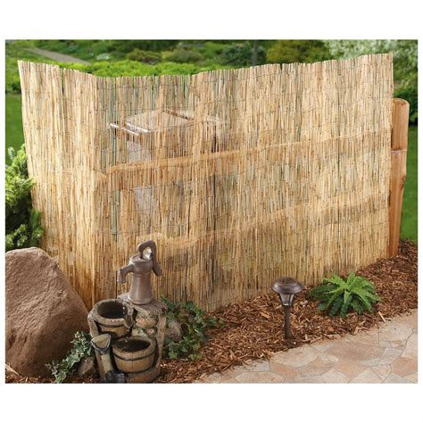 bamboo backyard bamboo reed garden fence bing images