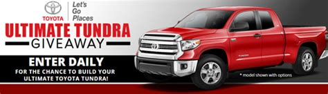 Facebook Toyota Giveaway - bassmaster toyota tundra ultimate truck giveaway
