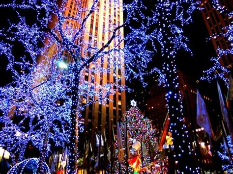 favimchristmas life lights new york nyc favim com 348464