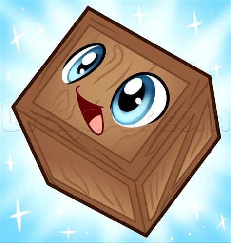 tiny in a box how to draw tiny box tim step by step characters pop