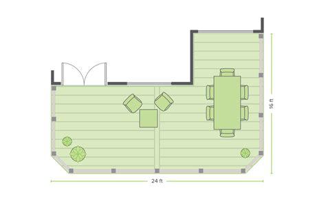 beveled edge deck design plans trex