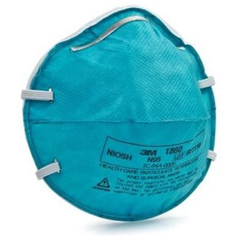 Masker N95 Respirator 1860s 3m 1860 n95 health care particulate respirator and surgical mask at healthykin