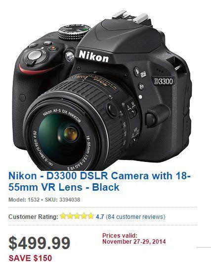 dslr camera cyber monday  deals nikon