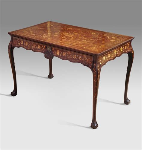 Kitchen Cabinet Furniture by Antique Marquetry Centre Table Side Table Dutch Centre