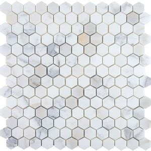 Honeycomb Mosaic Floor Tiles by 1000 Ideas About Honeycomb Tile On Hexagon