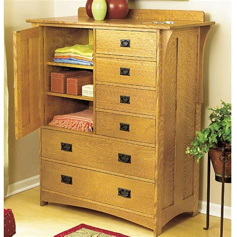 Arts And Crafts Dresser Woodworking Plan From Wood Magazine Woodworking Plans For Bedroom Furniture