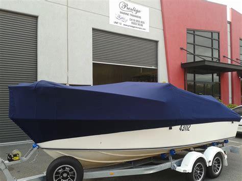 boat upholstery perth full cover navy sunbrella2 prestige marine trimmers