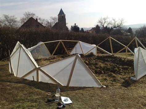 Geodätische Kuppel Selber Bauen by Gew 228 Chshaus Geod 228 Tische Kuppel