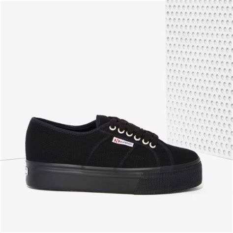 are superga sneakers comfortable 25 best ideas about black platform on pinterest black