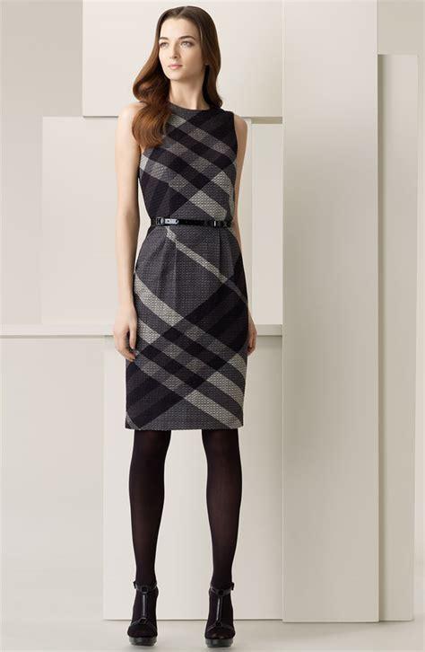 Dress Burberry Korean Black Pm burberry black dress