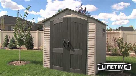 Lifetime 7x7 Storage Shed lifetime 60014 60042 lifetime 7x7 storage shed epic shed