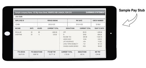 pay stub template ontario canadian paycheck stub generator canadian instant