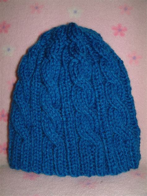 knit cable hat pattern cable knitted hat free pattern knitting projects