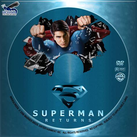 Cd Superman covers box sk superman returns high quality dvd