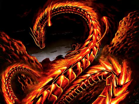 full hd for fire snakes fantasy dragon wallpaper mobile