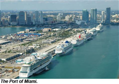 Miami Cruise Port Rental Car by Carnival Cruise Line Port Of Miami New Punchaos