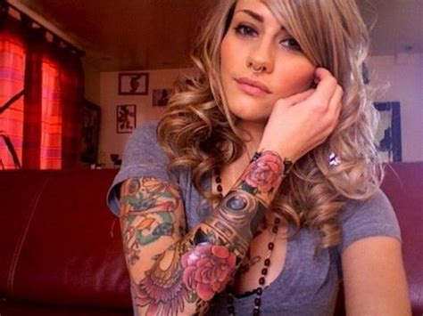 beautiful girls with tattoos sleeve designs tattoos