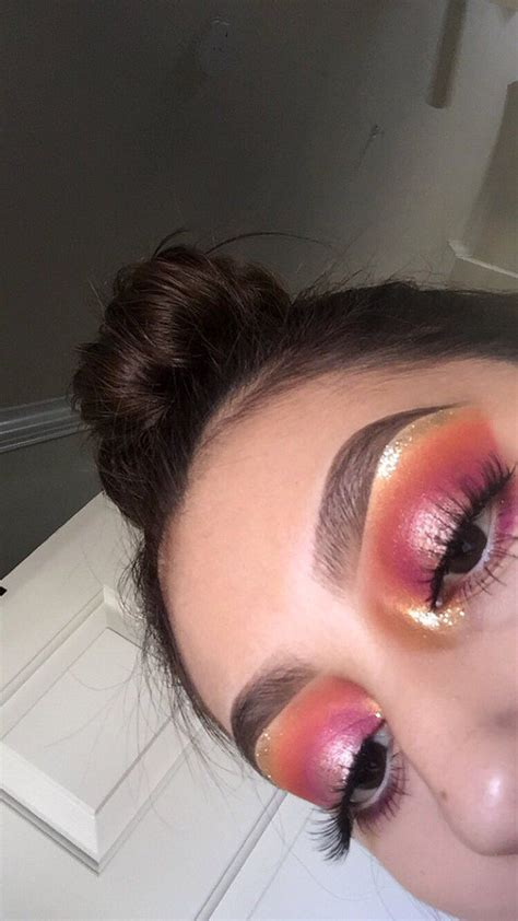 Preety Glam 3703 best images about enhance your on makeup looks pink and