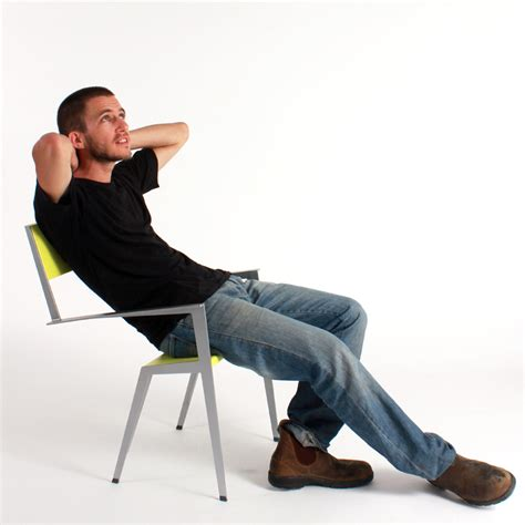 Sit On The Chair by Muli Bazak S Chaisecourte Suggests A Way To Sit