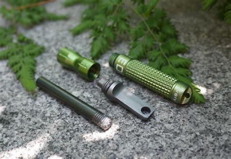 Starter Pemantik Api Outdoor Edc edc gear alloy starter waterproof magnesium flint cnc survival outdoor kits ebay