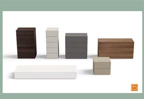 cassettiere moderne comodini e cassettiere per la singola e matrimoniale