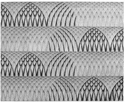 repeat pattern drawing 15 best images about liz harris grouper art on pinterest
