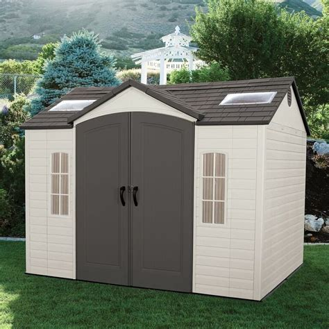 lifetime  ft   ft outdoor storage shed rc willey
